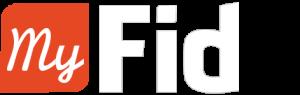 Myfid logo Blanc
